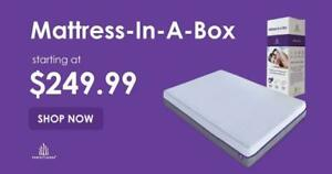 The Perfect Mattress | 10 3-Layer Triple Density Cooling Gel Memory Foam Mattress In A Box