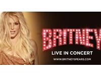 SECTION A2 - BRITNEY SPEARS - AMAZING SEATS - LONDON 02 - FRIDAY 24TH - 18:30pm