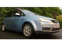 2006 FORD FOCUS C-MAX GHIA 2.0 TDCI 136 BHP 6 SPEED GEARBOX MINT DRIVE TOW BAR 3 MONTHS WARRANTY