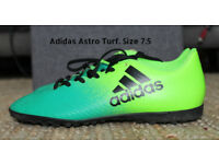 Adidas Astro Turf Trainers. Size 7.5