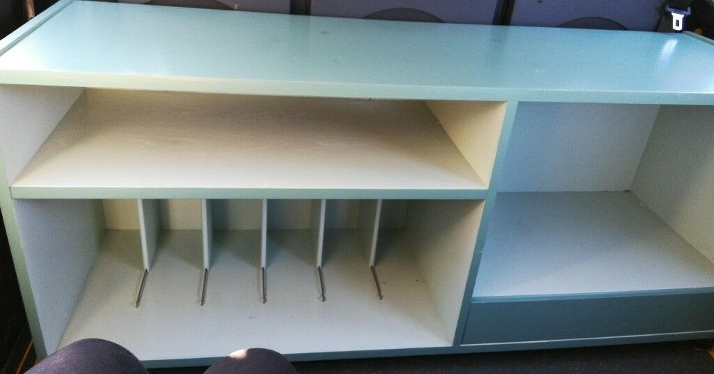 Superieur TV STORAGE UNIT WITH SHELVING FOR LP/RECORDS, BOOKS