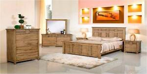 4 pce Morrie Queen Bedroom Suite With Tallboy Wangara Wanneroo Area Preview