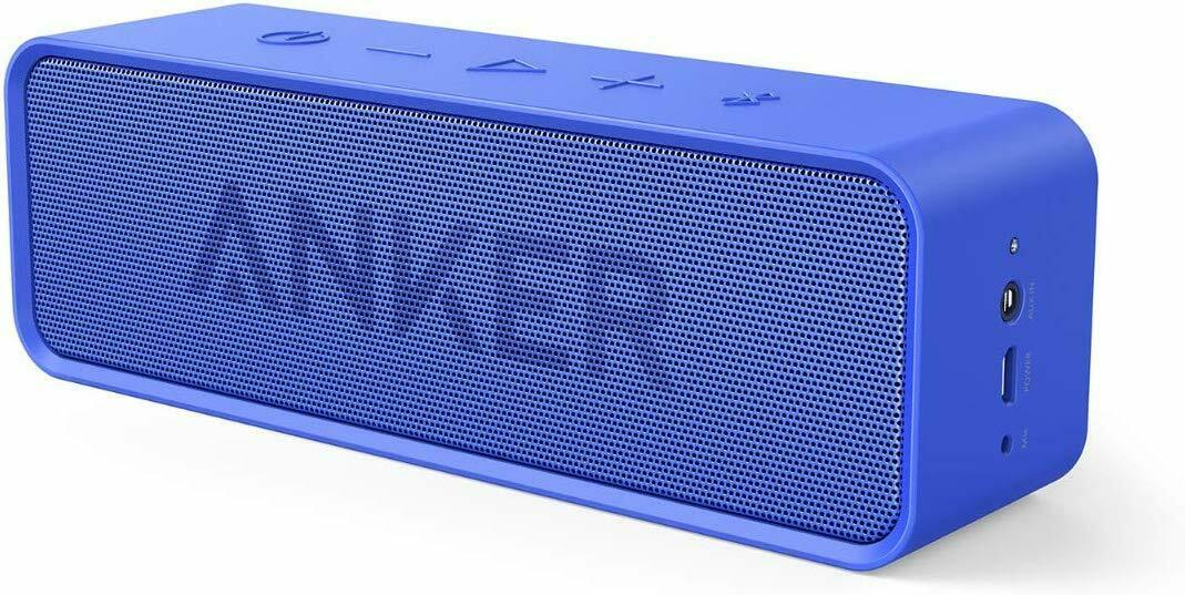 Anker Bluetooth Speaker 24-Hour Playtime 66ft Dual-Driver Po