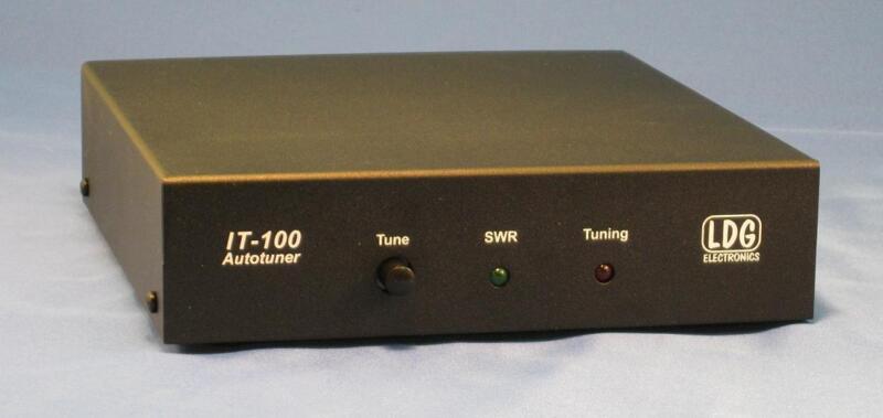 LDG ELECTRONICS IT100 100 WATT ICOM TUNER (AH4/AH3 COMPATIBLE)