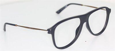 GUCCI GG1058/S 3LZ76 Brille Blau/Bronze glasses FASSUNG Navyblue *NO LENS / OHNE