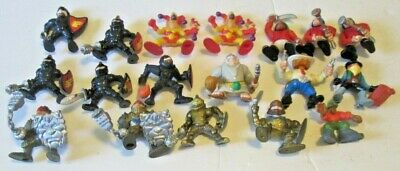 Vintage 1990s Fisher Price GREAT ADVENTURES lot of 18 People Castle Knights ++++