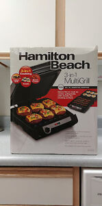 Hamilton Beach 3 in 1 Cooking Grill