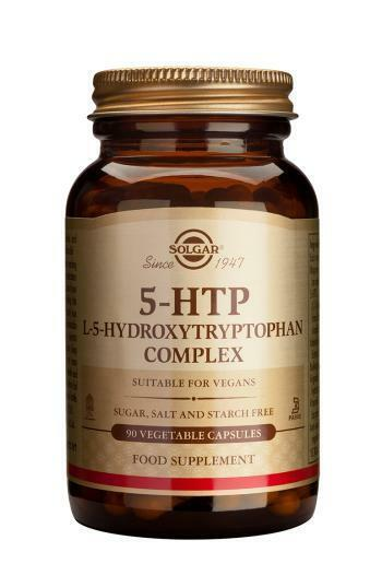 Solgar L-5-HTP 100 mg Vegetable Capsules, 90