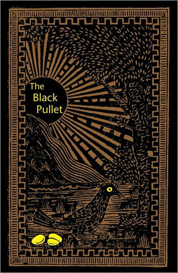 THE BLACK PULLET BLACK MAGIC BOOK WICCA PAGAN SPELL RITUAL CAT RESQ