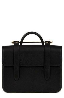 Strathberry MC Mini Black leather crossbody Handbag Purse