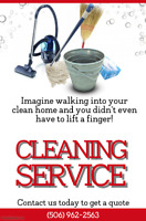 Tired of cleaning? We've got your back!
