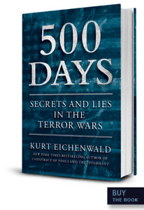 500 Days-Secrets and Lies in the Terror Wars-Hardcover + bonus