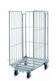 2 Roll cages for retail/warehouse/supermarket
