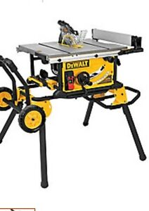 10-inch Jobsite Table Saw and Rolling Stand