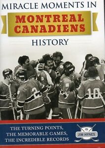 MIRACLE MOMENTS IN MONTREAL CANADIENS HISTORY NEW SAVE $25