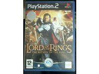 Lord of the rings. The return of the king. Playstation 2 game