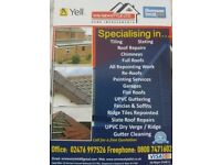 Upvc fascia soffits guttering roofing