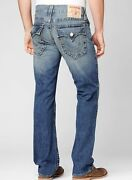 Mens True Religion Jeans Straight Leg