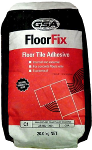 Floor tile adhesive 20Kg St Marys Penrith Area Preview