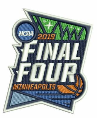 2019 MENS FINAL FOUR PATCH NCAA BASKETBALL JERSEY STYLE  PROGRAMS PIN IN (Jersey Style Pin)