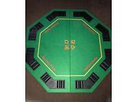 Unused large poker table
