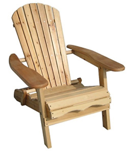 Brand NEW backyard wood chair with speaker