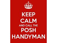 The Posh Handyman - honest, trustworthy & reliable - covering Greenwich & nearby areas. Call today!