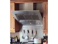 Britannia Stainless Steel Cooker Hood / Extractor For Sale