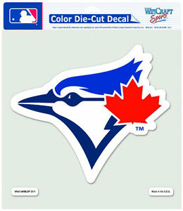 Toronto Blue Jays 8-by-8 Inch Diecut Colored Decal at JJ Sports