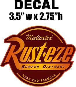 About rusteze rust eze decal sticker nice and the best quality