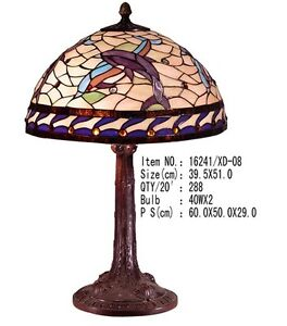 delfine tiffanylampe tiffany lampe 2 flammig wei lila. Black Bedroom Furniture Sets. Home Design Ideas