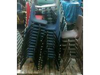 Kiddies plastic chairs