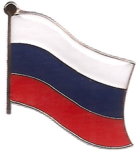 LOT OF 12 Russia Flag Lapel Pins - Russian Flag Pin
