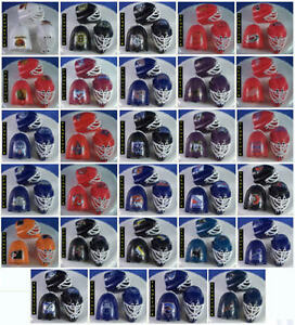 3-NEW-NHL-HOCKEY-MINI-GOALIE-MASK-CAKE-TOPPERS-29-TEAMS-AVAILABLE-YOU-PICK-TEAM
