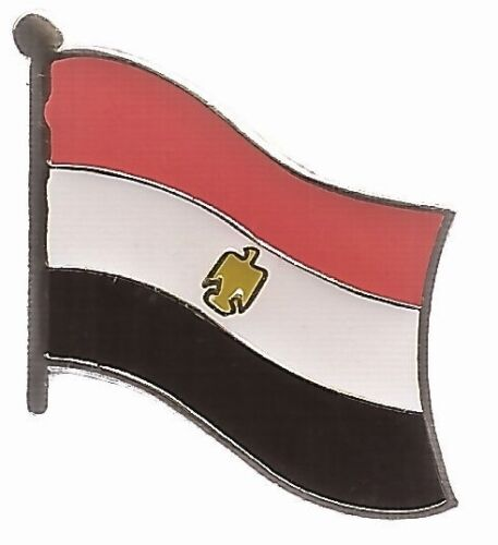 LOT OF 12 Egypt Flag Lapel Pins - Egypt Flag Pin