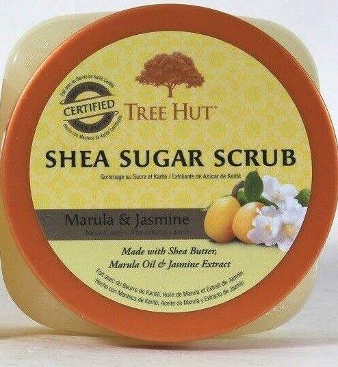 Tree Hut Shea Sugar Scrub Marula & Jasmine ~ 18 oz