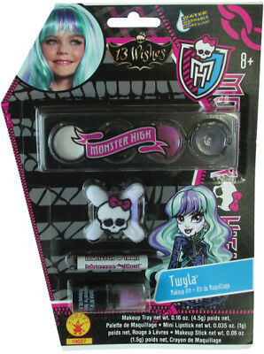 Girls Child Monster High 13 Wishes Twyla Makeup Kit Costume Accessory](Monster High Costumes 13 Wishes)