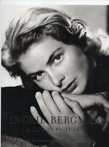 INGRID BERGMAN A LIFE IN PICTURES 525 PAGES ALL PHOTOS SAVE $52