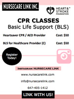 GET CPR BLS CERTIFIED ON WEEKENDS IN BRAMPTON FOR $50