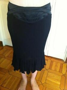 Just Cavalli black long skirt