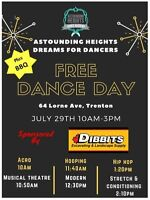 FREE Dance Lessons & Fundraiser BBQ
