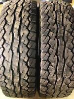 2 - LT245/75/17 Falken Wildpeak tires INSTALLED, NO TAX
