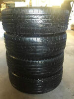 4 - P225/65/17 Continental Cross Contact tires installed, no tax