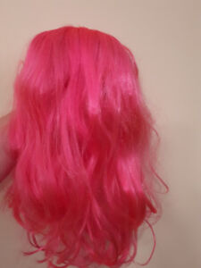 Perruque ROSE FLASH de Party ou Halloween VIBRANT PINK WIG