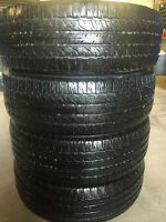 4 - P225/65/17 BF Goodrich Long Trail T/A tires installed No Tax