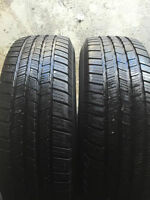 2-LT245/70/17 Michelin M+S tires - SALE installed, no tax