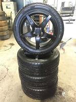 4-P275/45/20 Ironman iMove tires on Niche 5x120 Matte Black rims