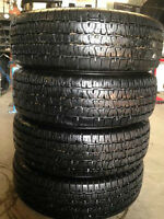 4-P215/70/15 BFG Radial T/A all season tires installed No Tax
