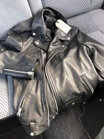 sell the new leather jacket