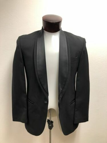 Used Tuxedo Coat - One Button Double Shawl Lapel